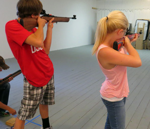 4H Shooting Sports in Golden Valley County Musselshell County