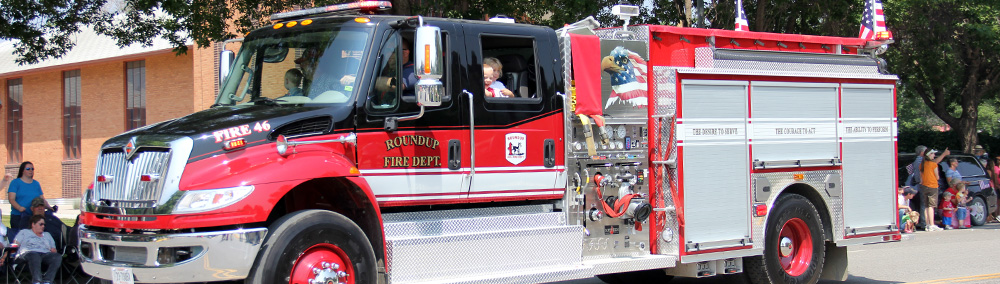 Fire Department Roundup Musselshell County