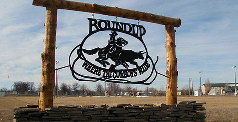 Roundup Montana Musselshell County Montana