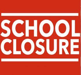 School Closure Sign and Notice