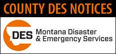 County DES Alert Link to DES Page
