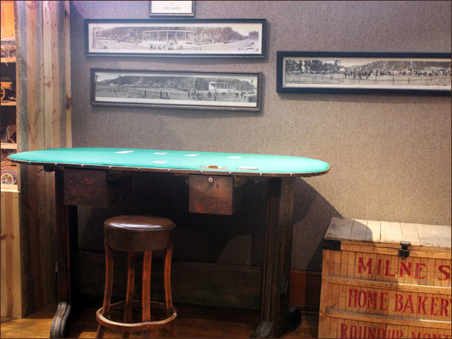 Antique Western Black Jack Table