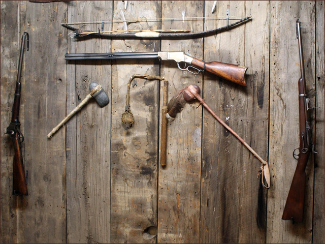 Indian weapons and antique firearms in montana