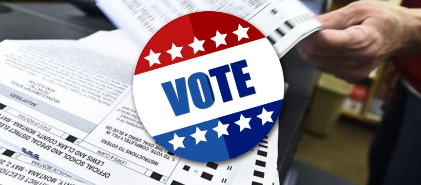 Voting Instructions 2020 Ballot Diagram